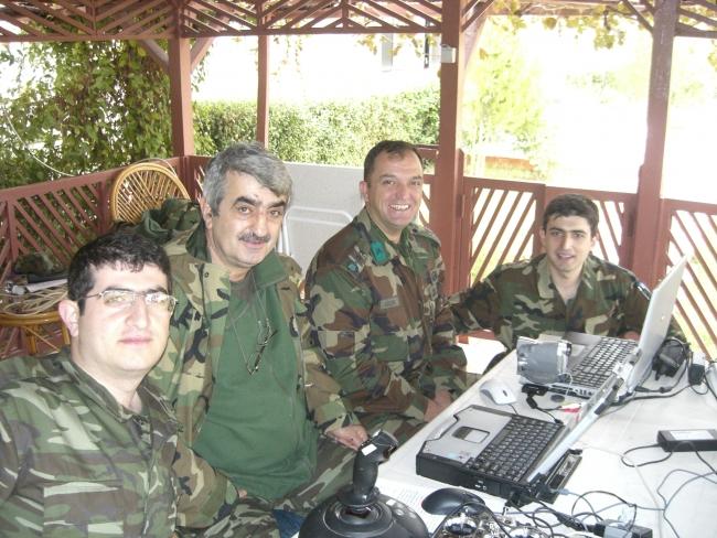 Şehit Yarbay Melih Gülova ve Bayraktar Ailesi.