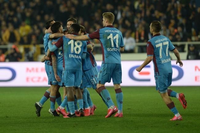 Trabzonspor, ligin ikinci yarısının ilk 8 haftalık bölümünde ilk yarıya göre daha fazla puan topladı. - Fotoğraf: AA