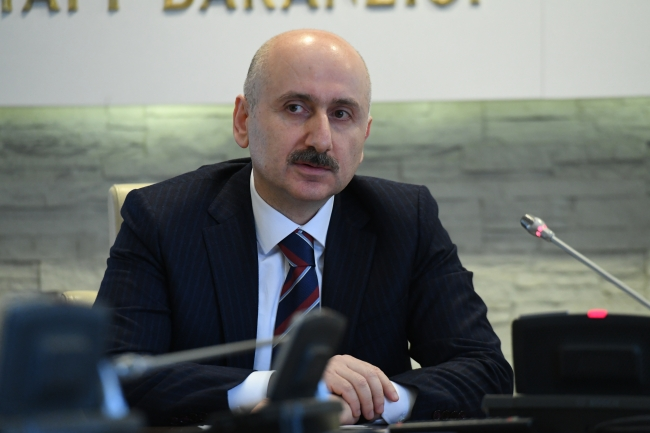 Ulaştırma ve Altyapı Bakanı Adil Karaismailoğlu | Fotoğraf: AA