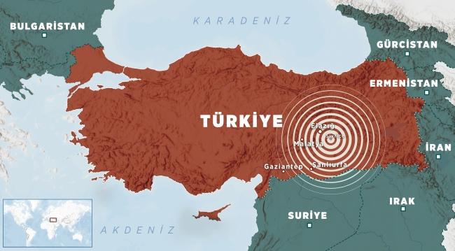 Deprem çevre illerde de hissedildi. (TRT Haber)