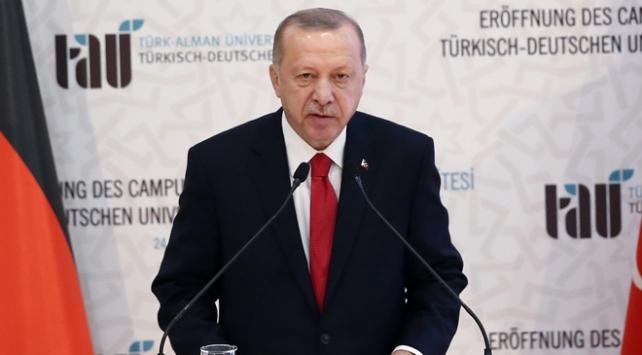 Cumhurbaşkanı Erdoğan: Suriyede düşülen hataya Libyada düşülmemeli