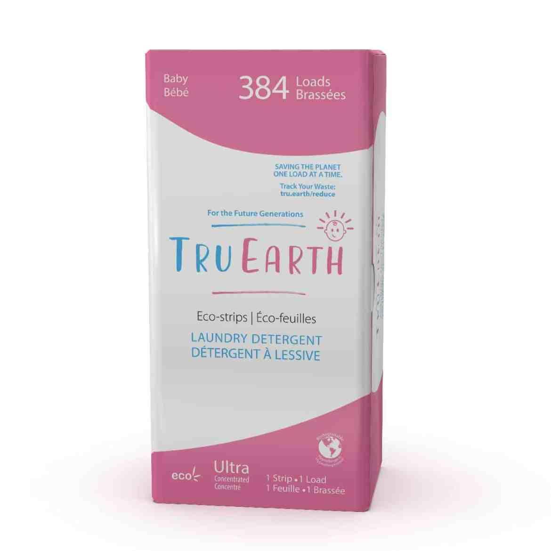 Tru Earth - Tru Earth Eco-strips Laundry Detergent (Baby) – 384 Loads   NOW: $149.00