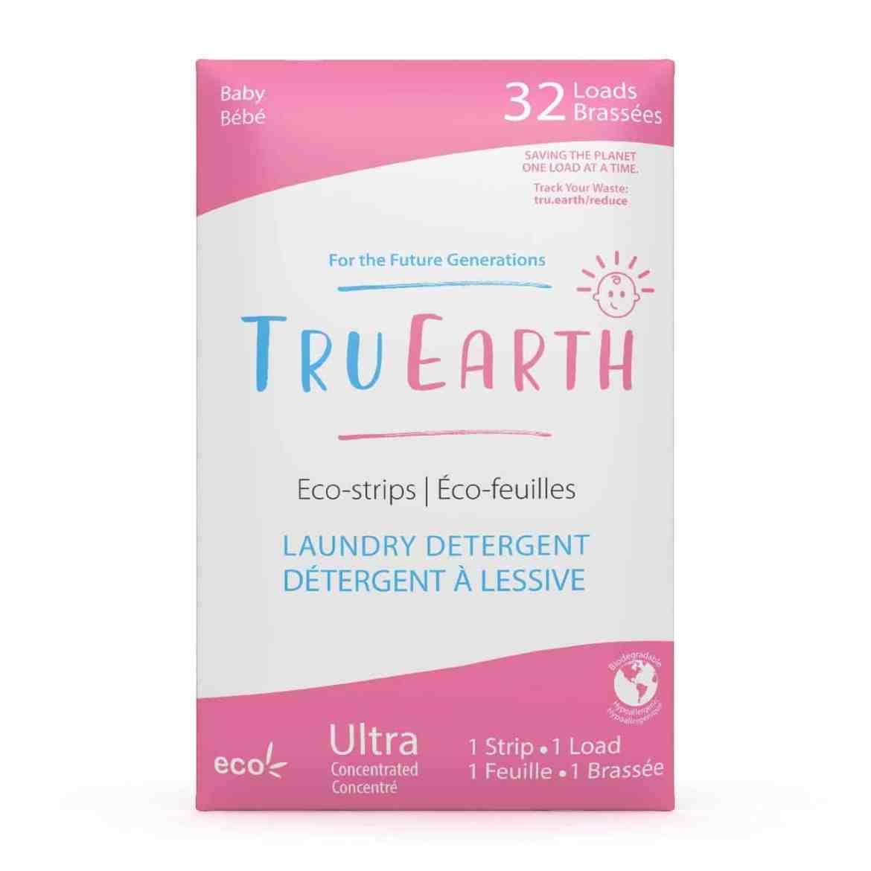 Tru Earth - Tru Earth Eco-strips Laundry Detergent (Baby) – 32 Loads   NOW: $19.95