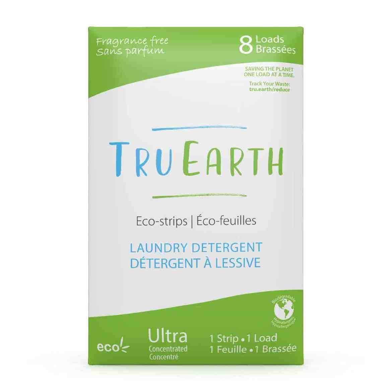 Tru Earth - Tru Earth Eco-strips Laundry Detergent (Fragrance-free) – 8 Loads   NOW: $9.95