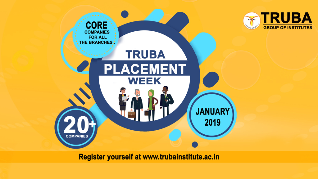 TRUBA PLACEMENT WEEK