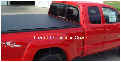 Lazerlite Tonneau Covers Can Support 1500 Pounds While