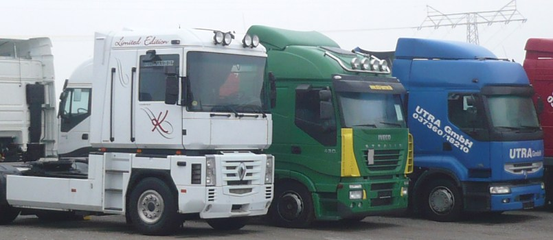 Truck Team Börner - Zugmaschinen unserer Spedition