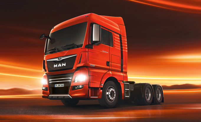 Top 10 Most Expensive Trucks: Man TGX D38
