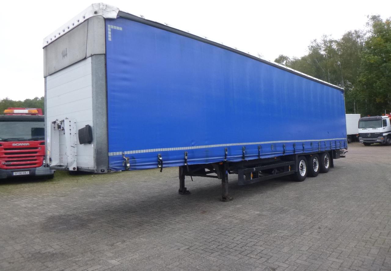 curtainsider semi trailer schmitz