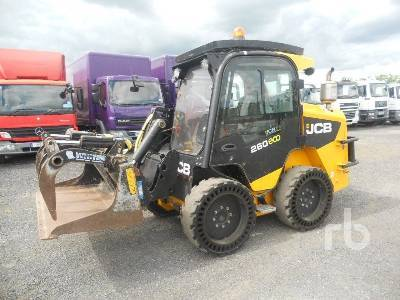 JCB ROBOT 260 ECO skid steer loader from United Kingdom ...