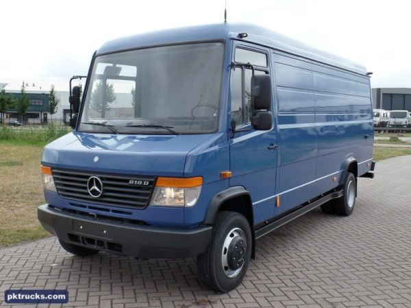 New Mercedes-Benz Vario 818 CDI closed box van for sale ...