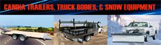 candia trailers and snow equipment trailers truck bodies snow plows sanders candia new hampshire