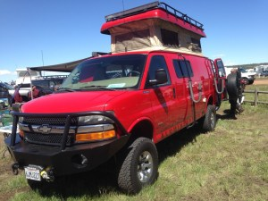 Sportsmobile at 2015 Overland Expo