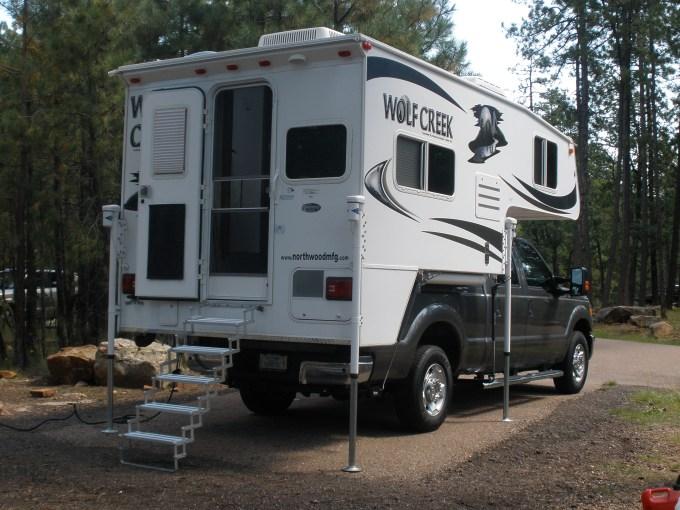 Wolf Creek 850 Truck Camper - Truck Camper Adventure