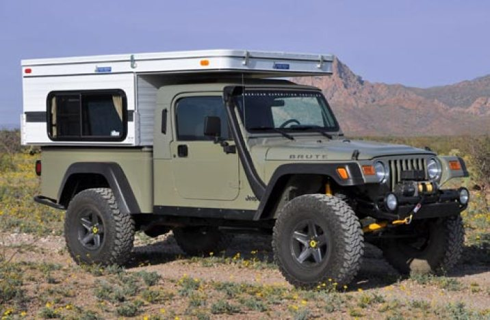 In the Spotlight: AEV TJ Brute and Four Wheel Camper Sparrow