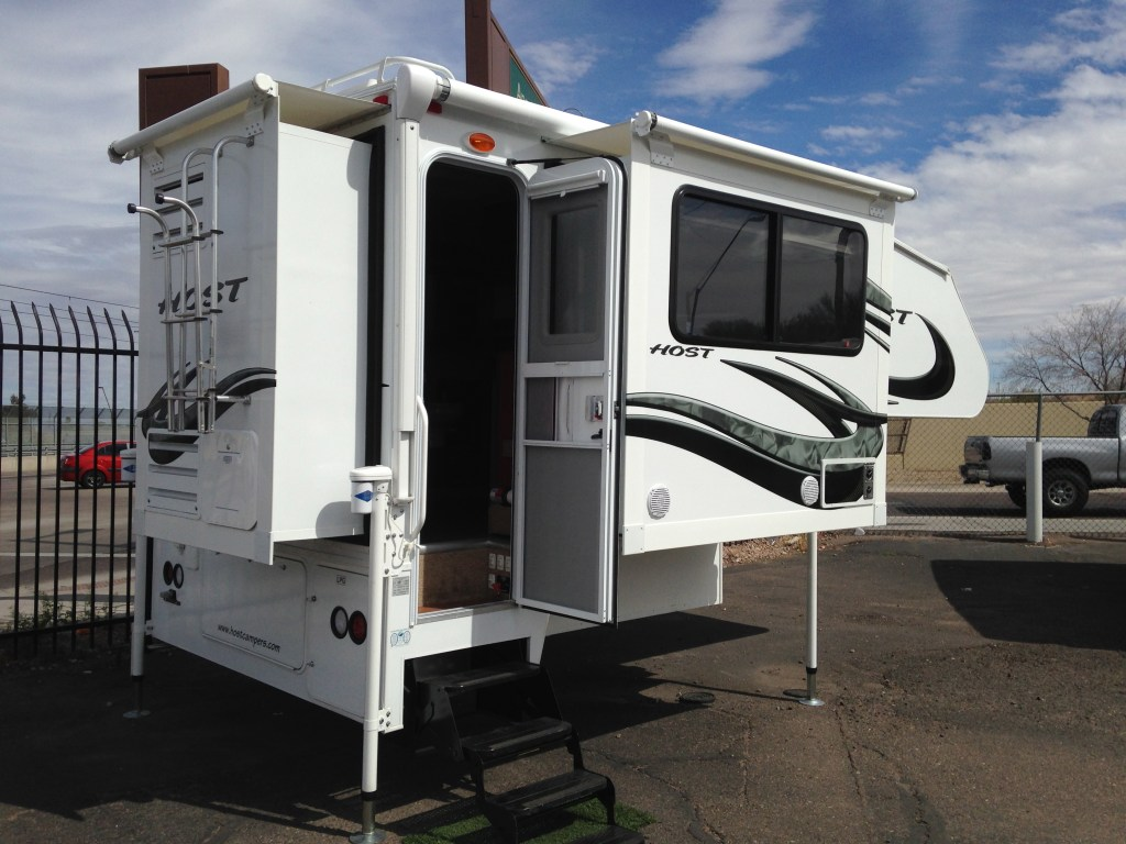 Host Truck Camper - Triple Slide-out - Truck Camper Adventure