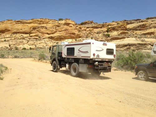 The Burr Trail - Waterpocket Fold - Truck Camper Adventure