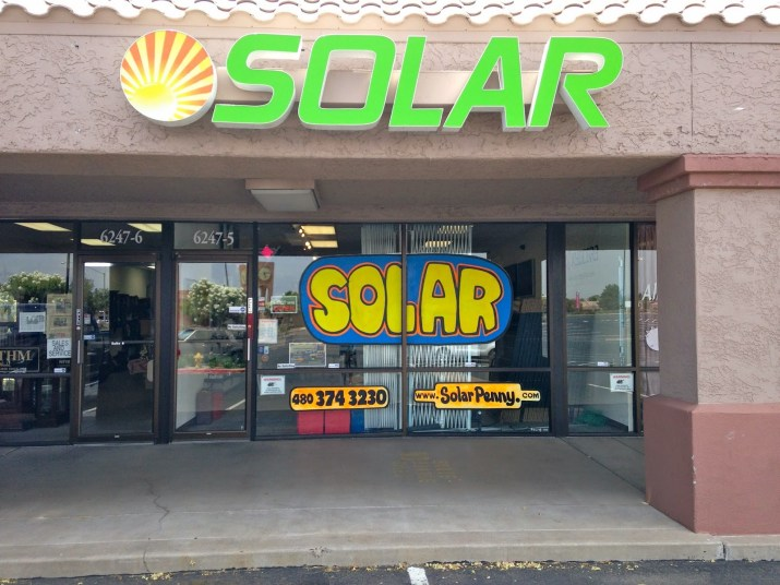RV Truck Camper Solar Power