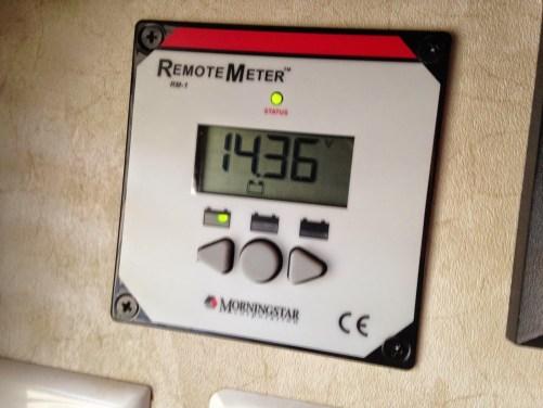 Morningstar Remote Meter RM-1