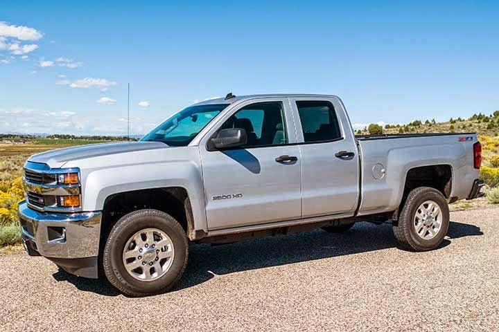 A Chevy Silverado 2500 Payload Warning | Truck Camper Adventure