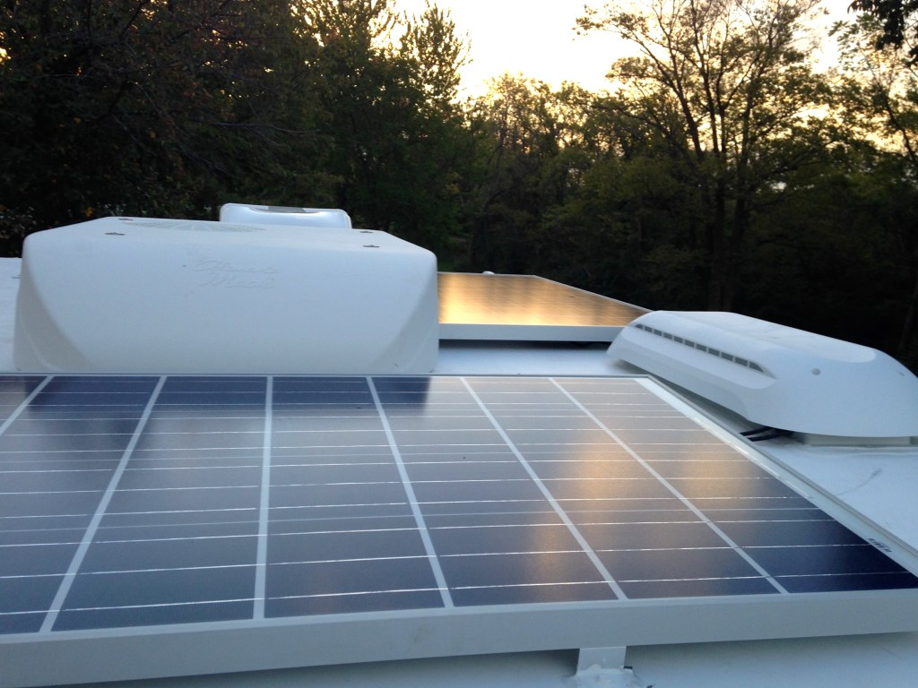 truck camper solar panels