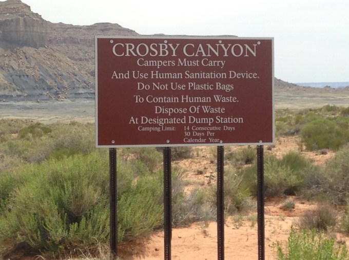 Crosby Canyon - Warm Creek Bay