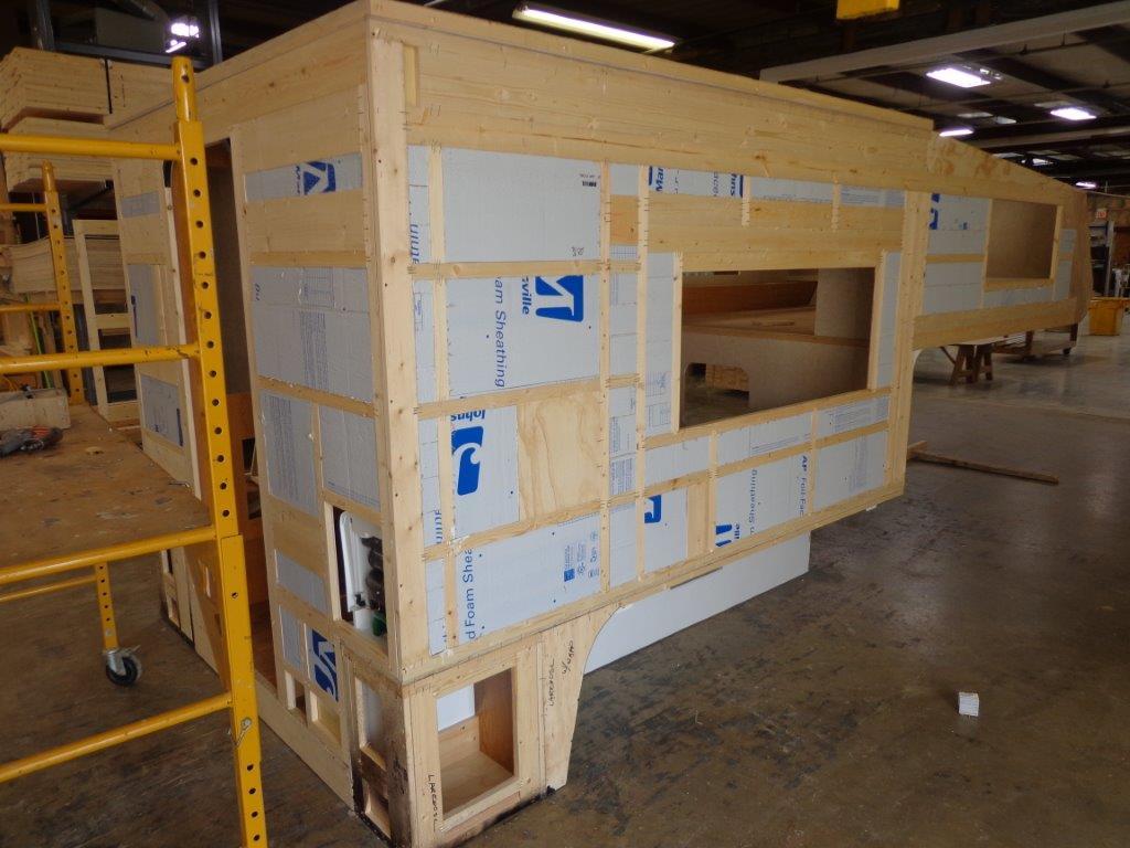 Northstar Laredo SC with block foam inserted in frame