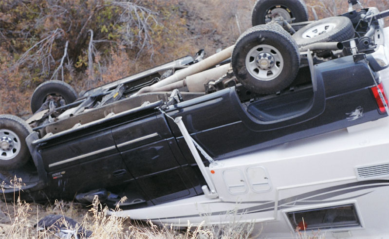 Truck Camper Rollover Torklift FastGuns