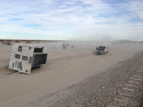 Wolf Creek 850 Accident - Truck Camper Adventure