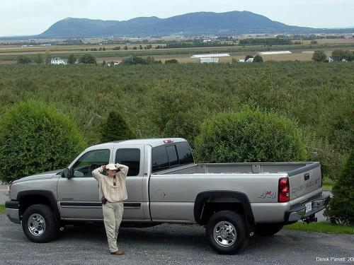Derek Parent's Chevy Silverado - Truck Camper Adventure