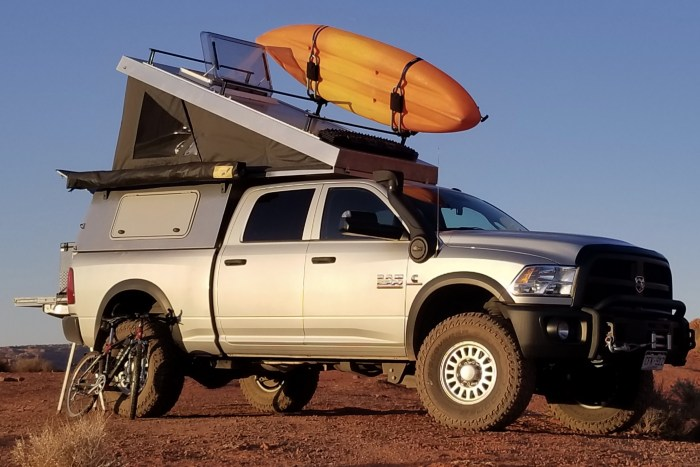 In the Spotlight: 2018 AT Overland Summit Truck Topper | Truck Camper Adventure