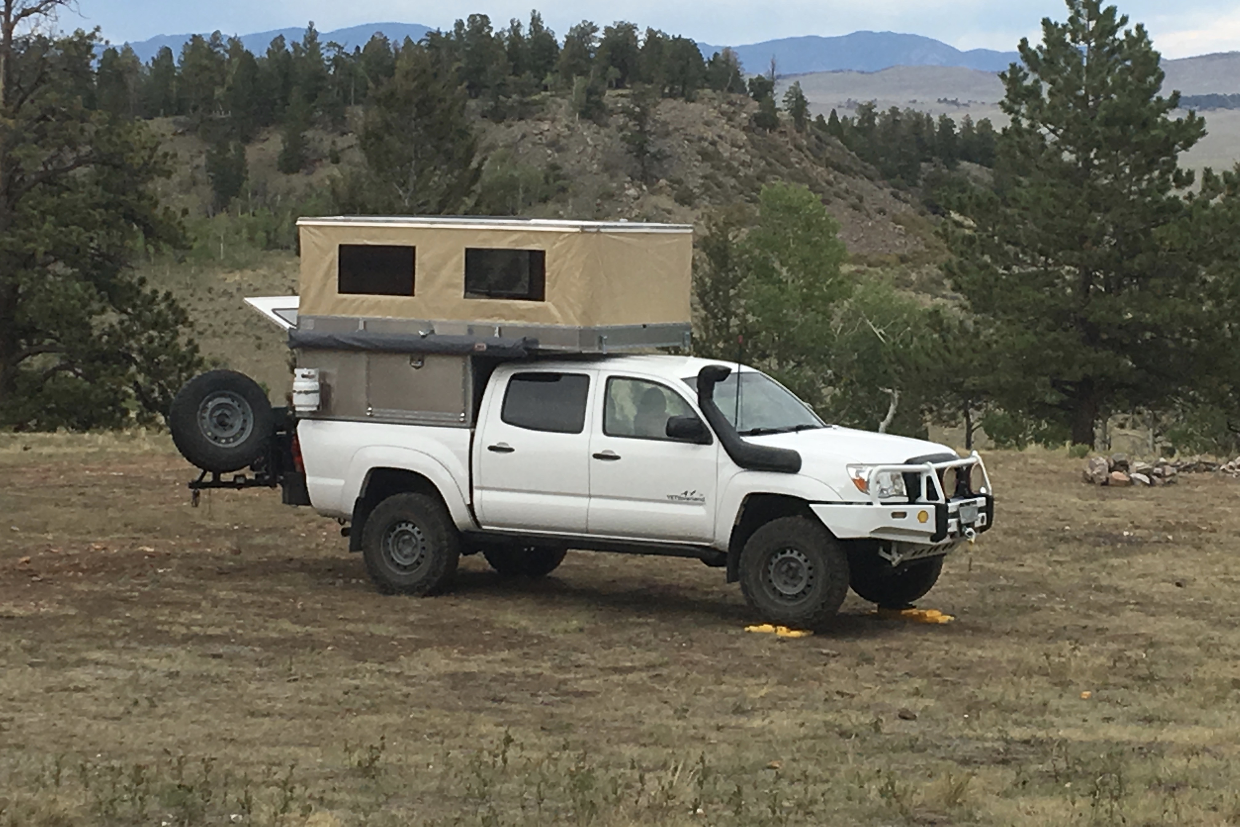 Truck Camper Shells >> Ovrlnd Campers Releases First Pop Top Camper Shell Truck