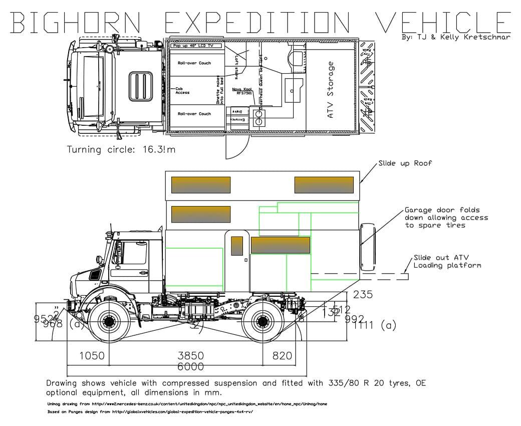 Dream Camper Floor Plan Contest