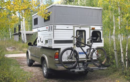 bike solutions for truck campers