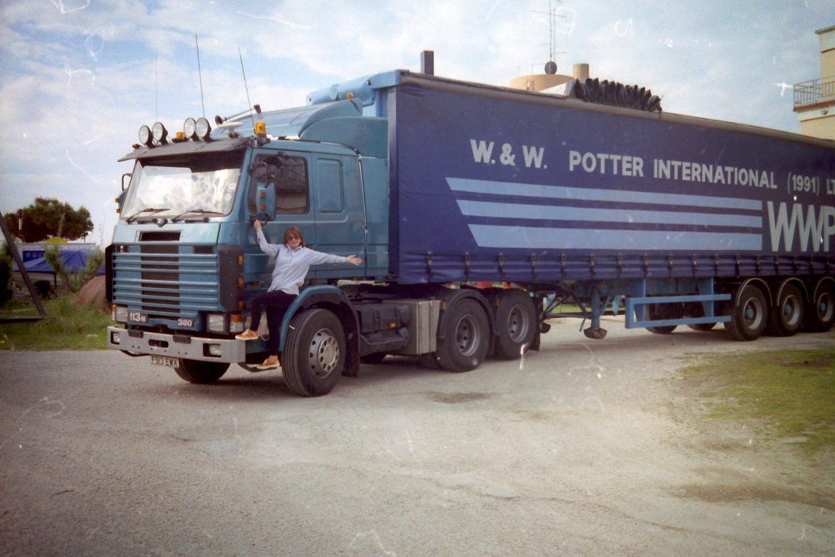 Continental days at Potters.