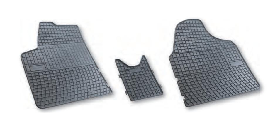 tapis de sol utilitaires iveco daily en caoutchouc