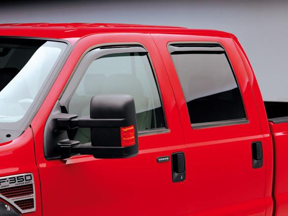Truck Hardware Egr In Channel Window Visors Smoke