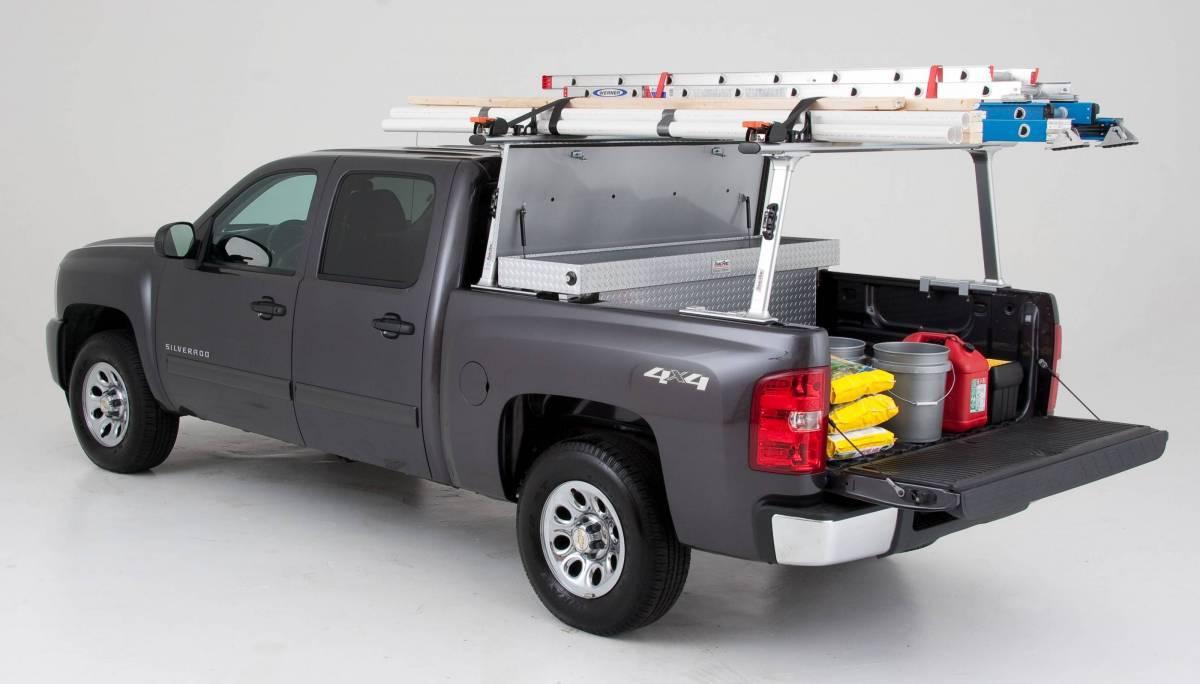 thule tracrac pro 2 aluminum truck rack