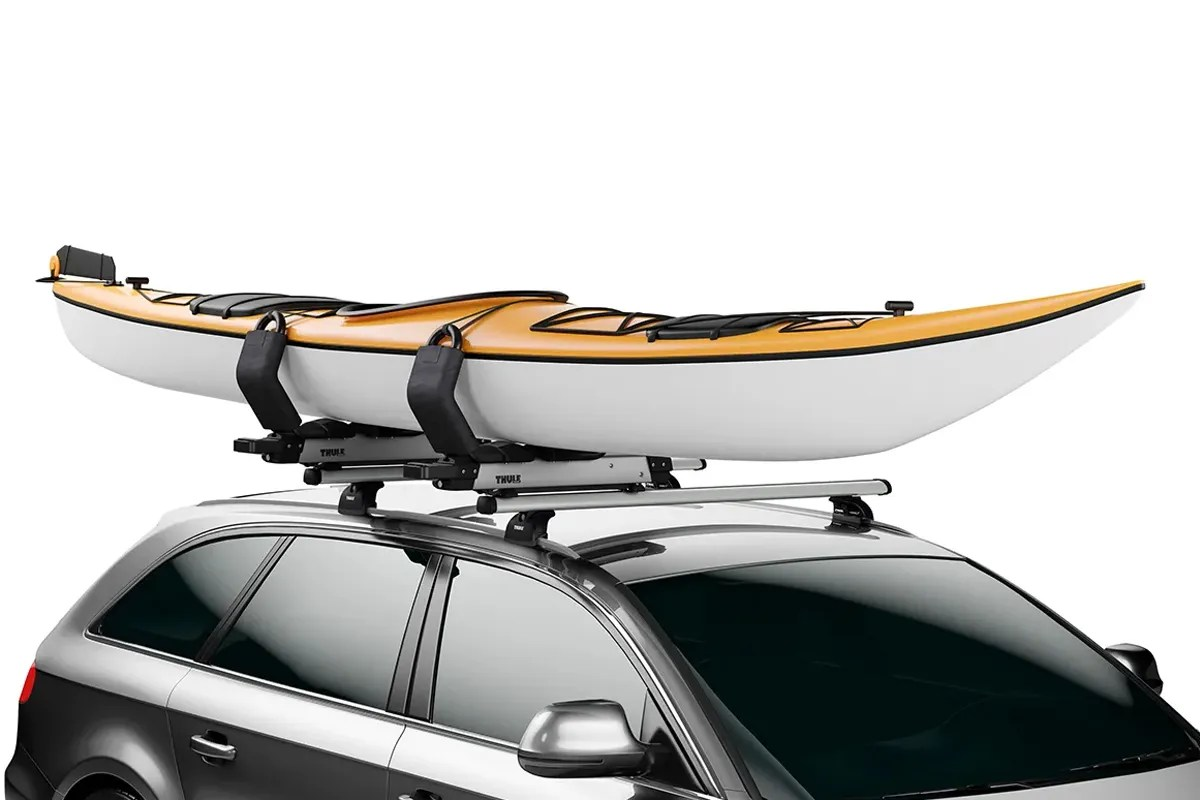 thule hullavator pro lift rack kayak canoe