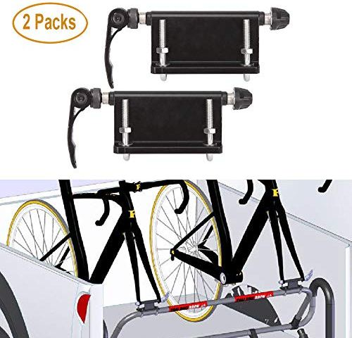 atliprime Bike Cargo Rack 55 LB Capacity Universal Bicycle Touring Carrier Quick Release Adjustable Bicycle Luggage Carrier Rack