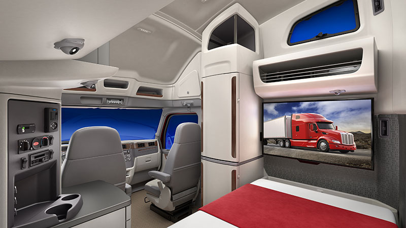 UltraLoft sleeper interior