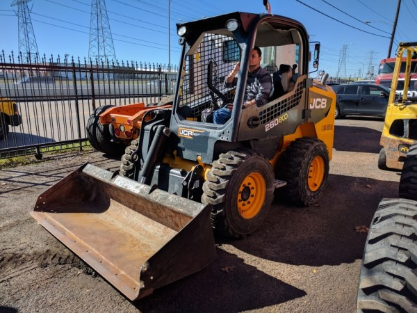 2012 JCB 260 ECO POWER BOOM SKID STEER # 6349