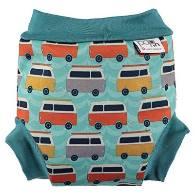 Close Parent Bañador pañal lavable modelo Campervan Green