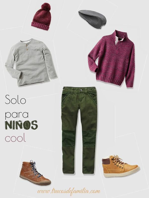 outfit niño pantalón verde