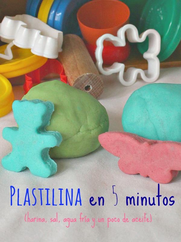 Plastilina casera en cinco minutos