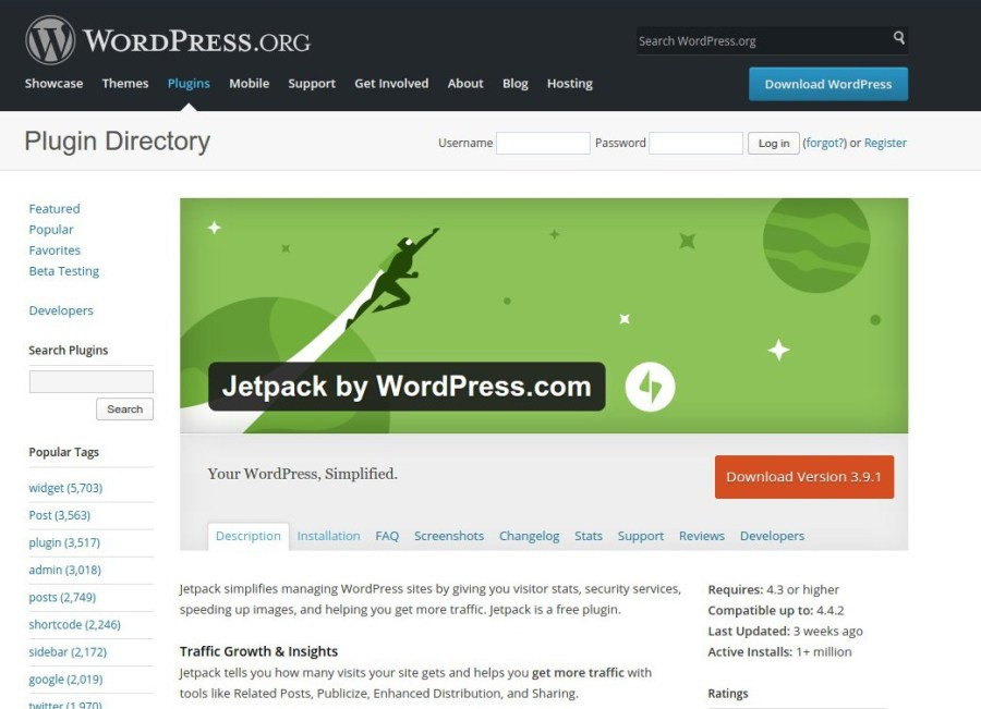Jetpack, el plugin imprescindible para WordPress