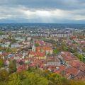 Ljubljana city view from Vladimir Yaitskiy kronny on Flickr