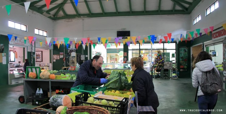 Galicia traditional market Lalin