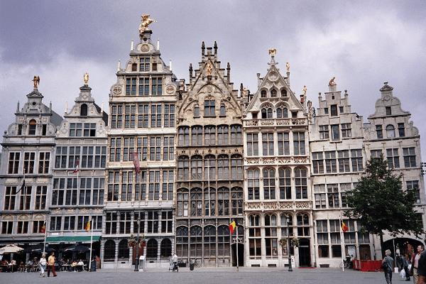 Edificios de Amberes