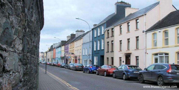 casas de colores Irlanda